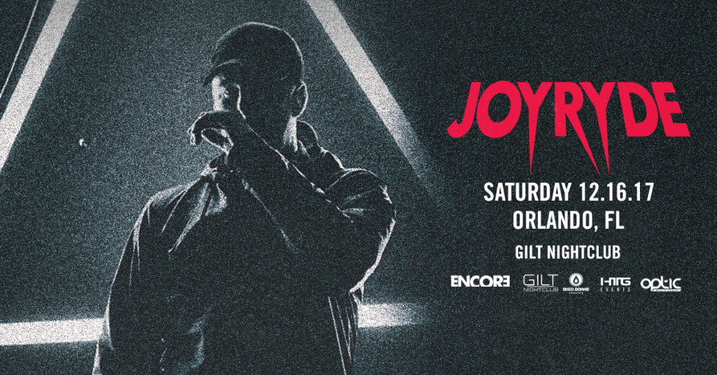 Joyryde at Gilt Nightclub