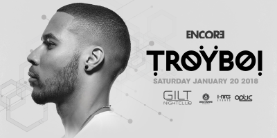 Troyboi at GILT Nightclub