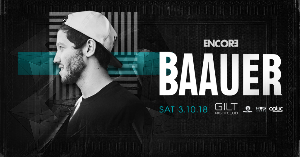 Baauer at GILT Nightclub