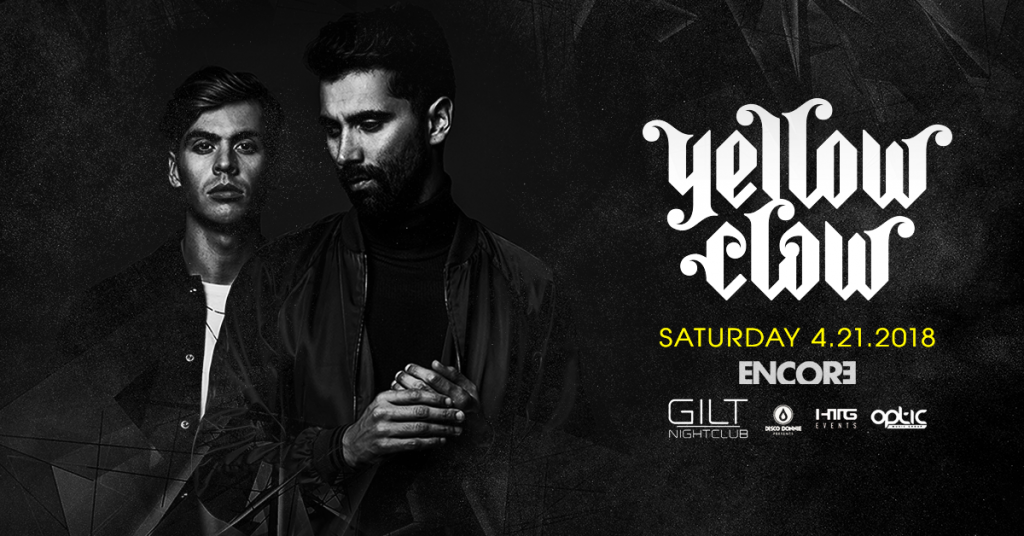 Yellow Claw Gilt