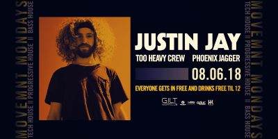 Justin Jay at Gilt Nightclub