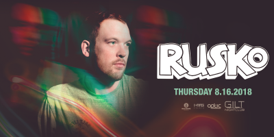 Rusko at Gilt Nightclub
