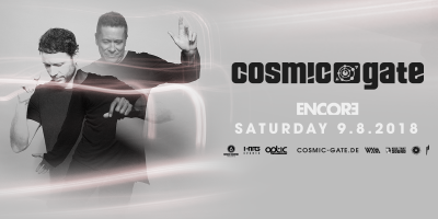 Cosmic Gate at Gilt Nightclub