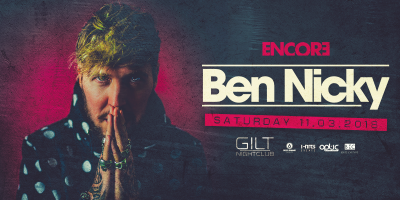 Ben Nicky at Gilt Nightclub