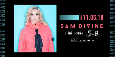 Sam Devine at Gilt Nightclub