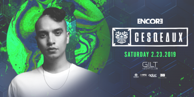 Cesqeaux at Gilt Nightclub